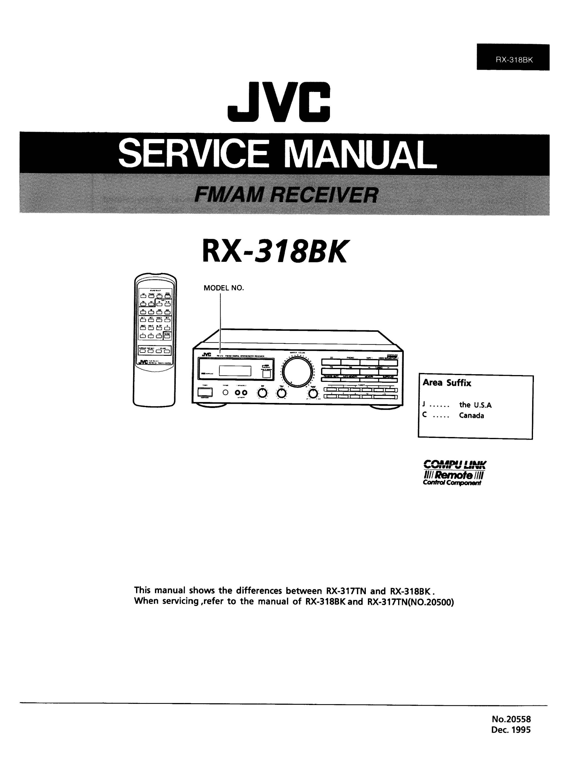 Jvc rx-3bk sch service manual download, schematics, eeprom, repair.