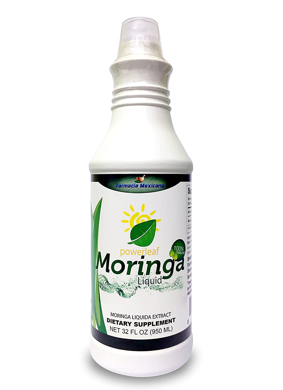 Amazon.com: Powerleaf Moringa (Oleifera) Liquid Superfood - 100% Natural: Health & Personal Care