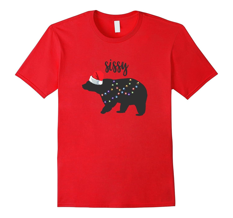 Matching Christmas Pajama T-Shirt Sissy Bear-FL