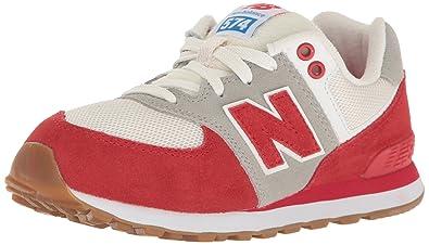 New Balance Unisex-Kinder 574 Ausbilder Rot (Pan Red/White) 29 EU ...