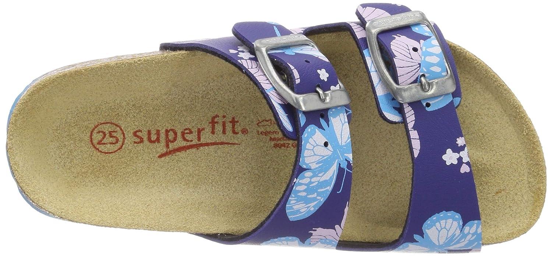Superfit Fussbettpantoffel Pantuflas para Ni/ñas