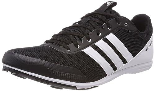 premium selection 9197e 6d53a adidas Distancestar, Scarpe da Atletica Leggera Uomo, Nero Cblack Ftwwht,  39 1