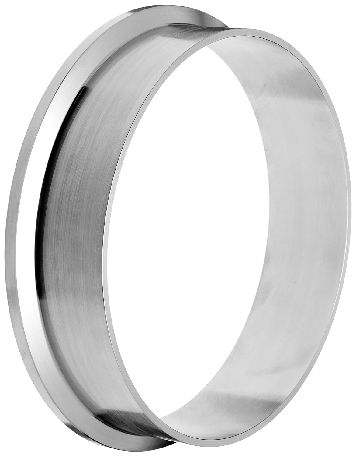 Dixon L14AM7-G600 Stainless Steel 304 Sanitary Fitting 6 Tube OD Long Weld Clamp Ferrule