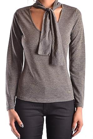 Armani Jeans Damen MCBI025163O Grau Polyester Pullover  Amazon.de ... 3759da5ba9