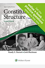 Constitutional Structure: Cases in Context [Connected Casebook] (Aspen Casebook) Paperback