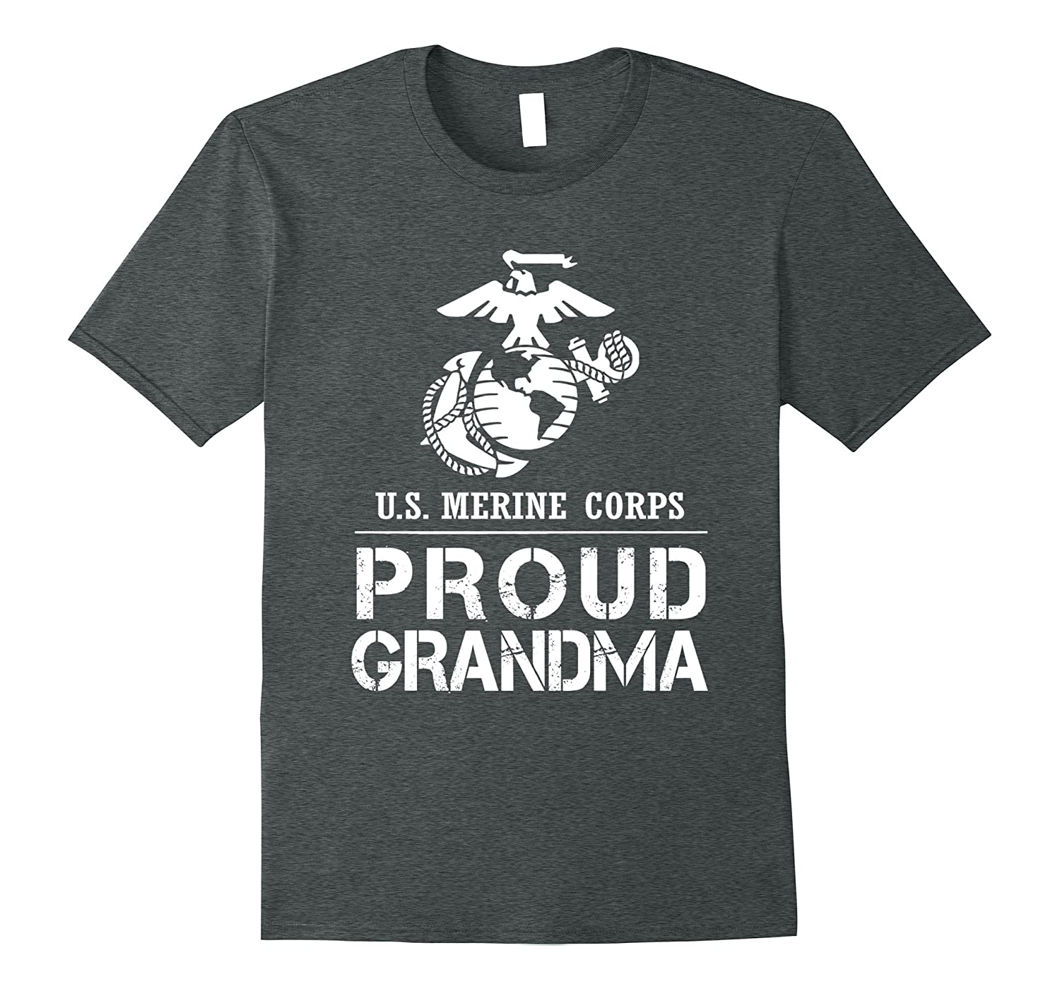 Proud USMC Grandma Tee US Army T Shirt