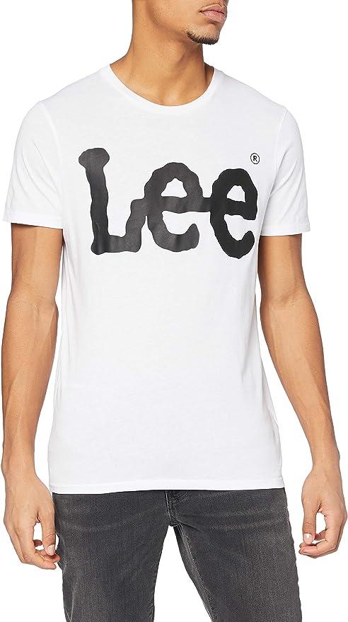 TALLA XL. Lee Logo - Camiseta Hombre