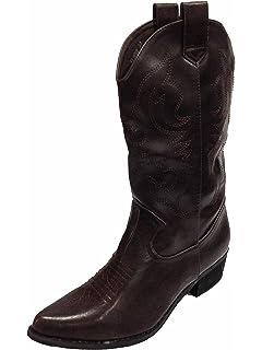 60b4a8c9f7c Women s Calf High Cowboy Western Boots w 2