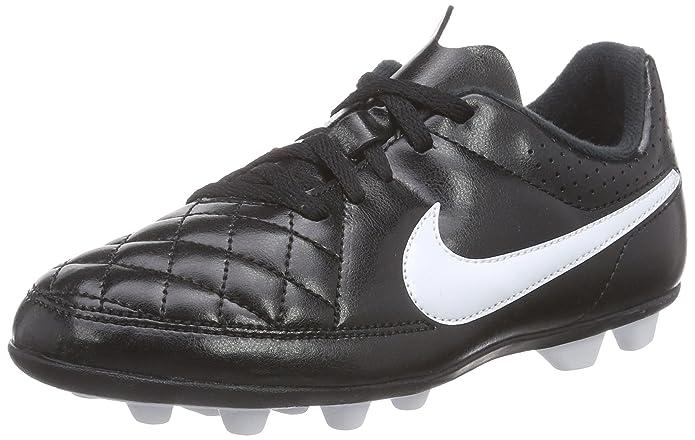 new concept 453e0 cf403 Amazon.com   Nike Jr. Tiempo Rio II Kids Firm-Ground Soccer Cleat   Soccer