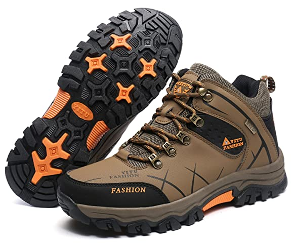 LILY999 Men's Hiking Shoes Walking Shoes Sports Outdoor Antiskid warm  Cushioning Boots: Amazon.co.uk: Shoes & Bags