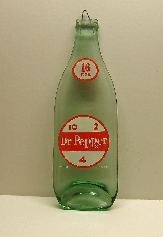 Vintage Dr Pepper 10 2 4 Logo Soda Slumped 1 Pint Bottle Spoon Rest Cutting Board