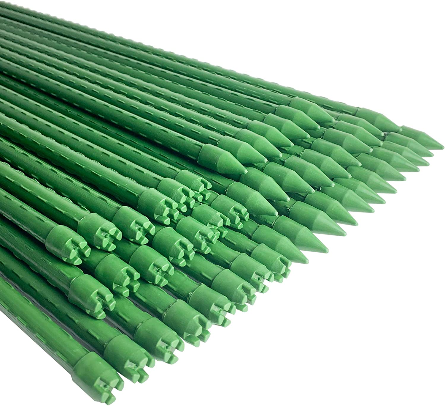 WAENLIR Garden Stakes 48 inch 4ft Sturdy Plant Sticks/Support, Tomato Stakes, Pack of 50