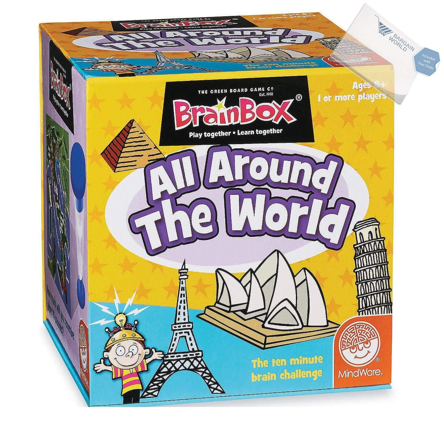 BrainBox All Around the World (With Sticky Notes)
