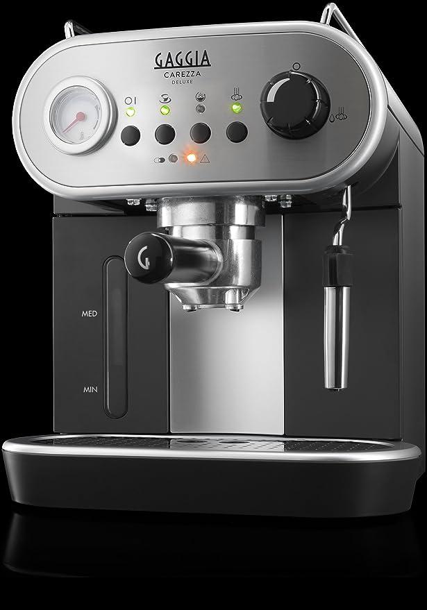 Amazon.com: Gaggia Carezza Deluxe ri8525/08 – Máquina de ...