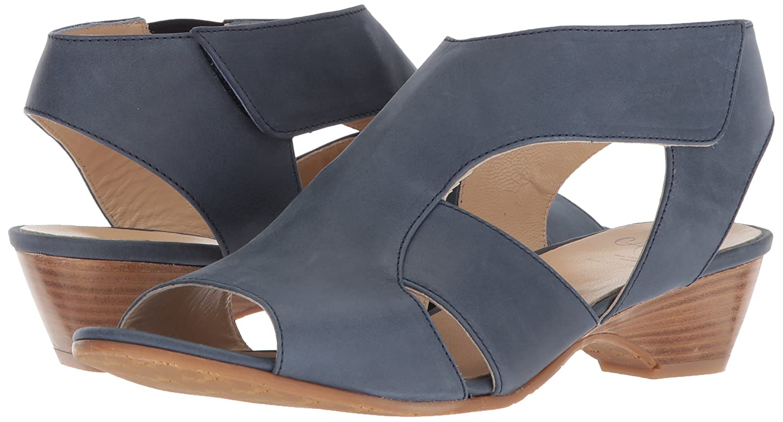 Amalfi by 8 Rangoni Women's Doris Wedge Sandal 8 by M US|Blue Talco B07521LC7F 52033e