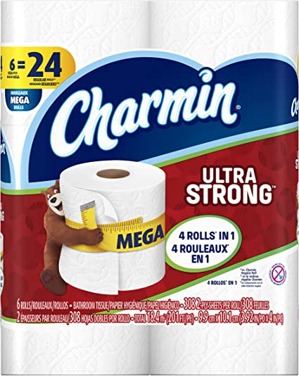 Roll Paper 10 Rolls Ultra-Soft Toilet Paper Household Toilet Paper in Bathroom