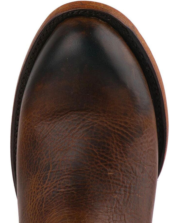 Lane Women's Plain Jane Cognac Ankle Boot Round Toe - Lb0359h B07949Z2B7 9 B(M) US Brown