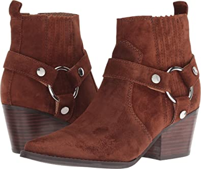 c9d020864 Marc Fisher LTD Women's Halie Bootie Medium Brown Suede 5 ...