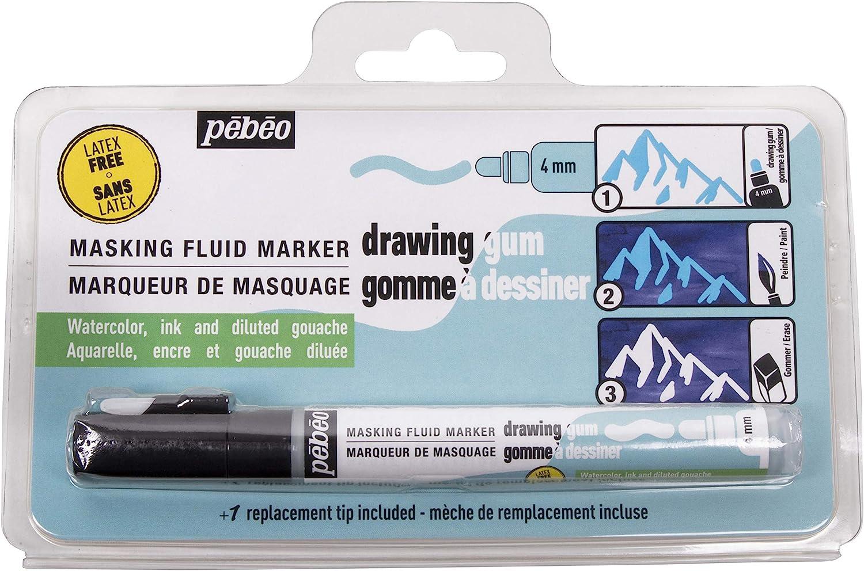Pebeo Inc Marqueur /à dessin sans latex Taille unique