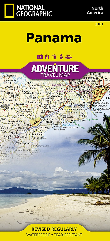 Read Online Panama (National Geographic Adventure Map) pdf epub