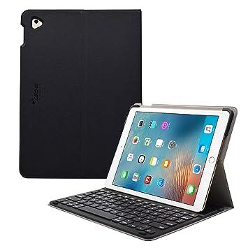 Sharon Teclado iPad Pro 9.7 (Modelo 2017) Teclado iPad Pro 9.7 Español (QWERTY Fácil Configuración) | Funda para iPad Pro 9.7 con Teclado | Conexión ...