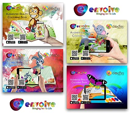 Animation In Augmented Reality Coloring Books For Kids
