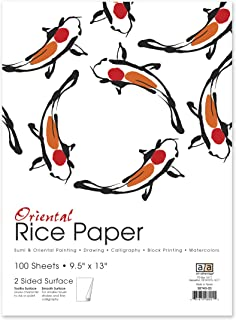 art advantage rice paper 100 sheets pack