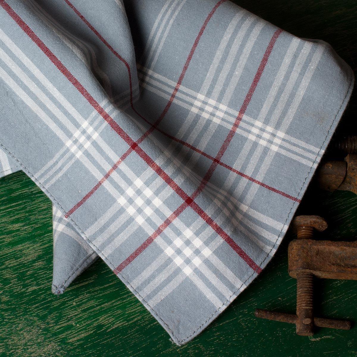Superior Quality 100/% Cotton Hemmed Stitched Handkerchief Westward Ho