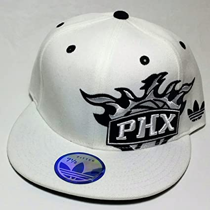 b4a93e9b01c36e Amazon.com : Phoenix Suns Adidas New Shadow White & Black Mitchell ...