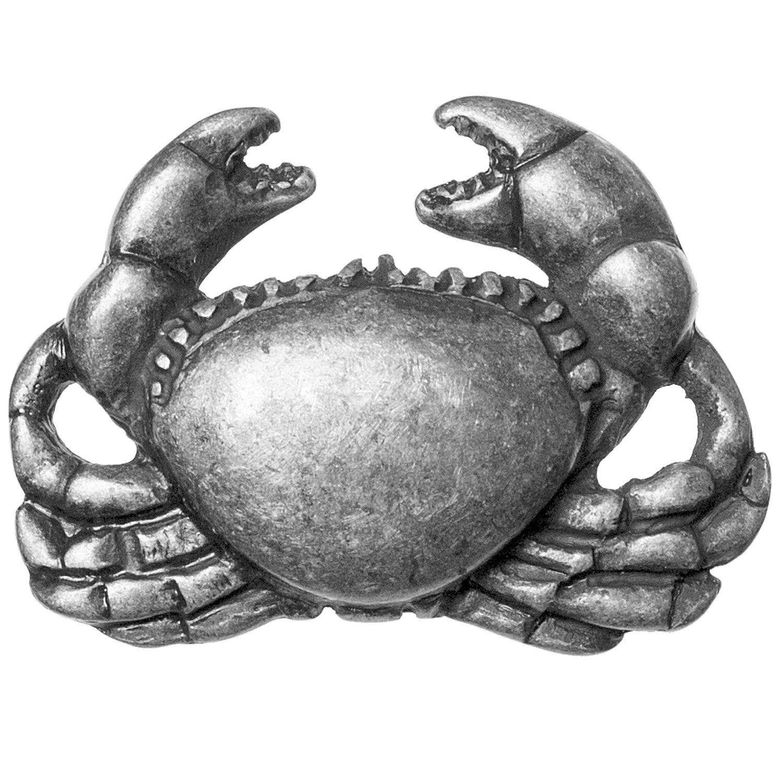 Big Sky Hardware Sierra Lifestyles Crab Knob, Pewter