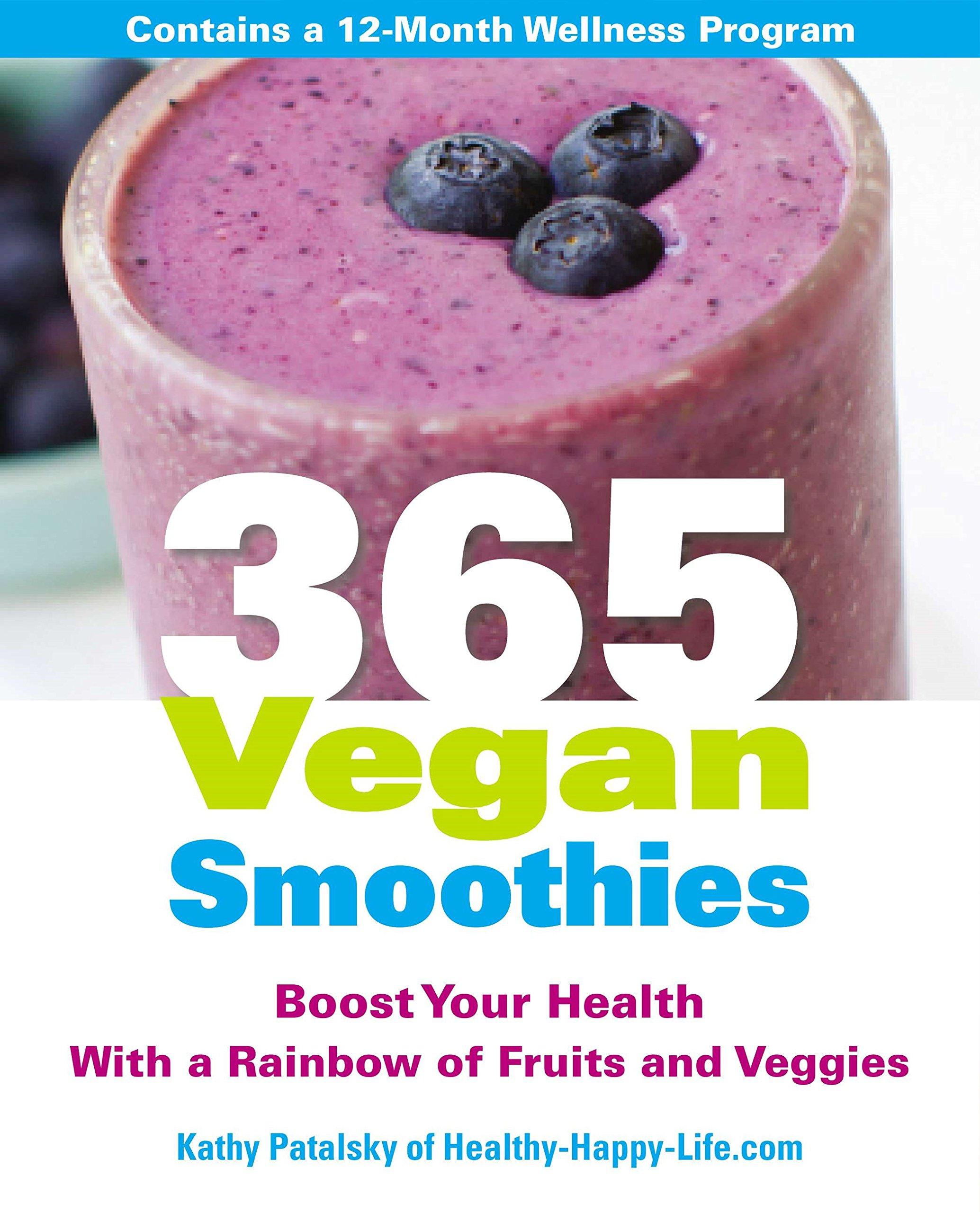 365 Vegan Smoothies Rainbow Veggies product image