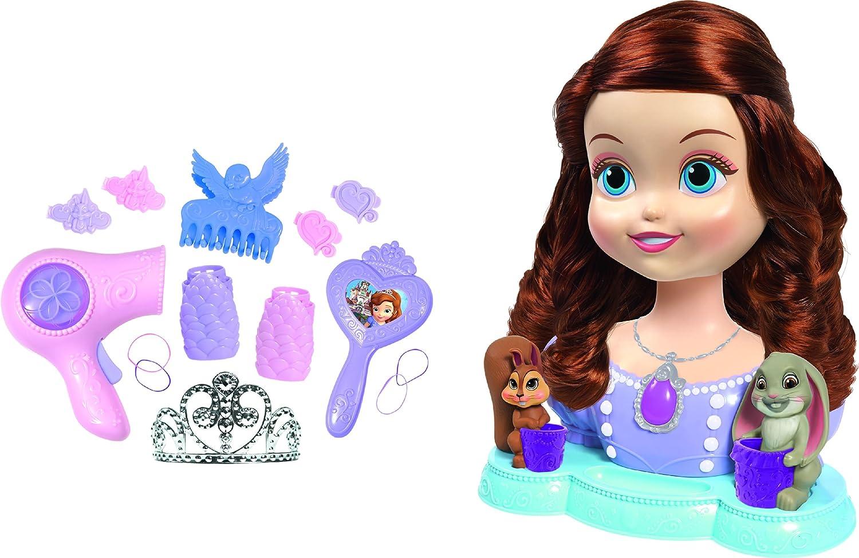 Princesa Sofía - Busto peinados, 33 x 40 cm (IMC Toys 205369)