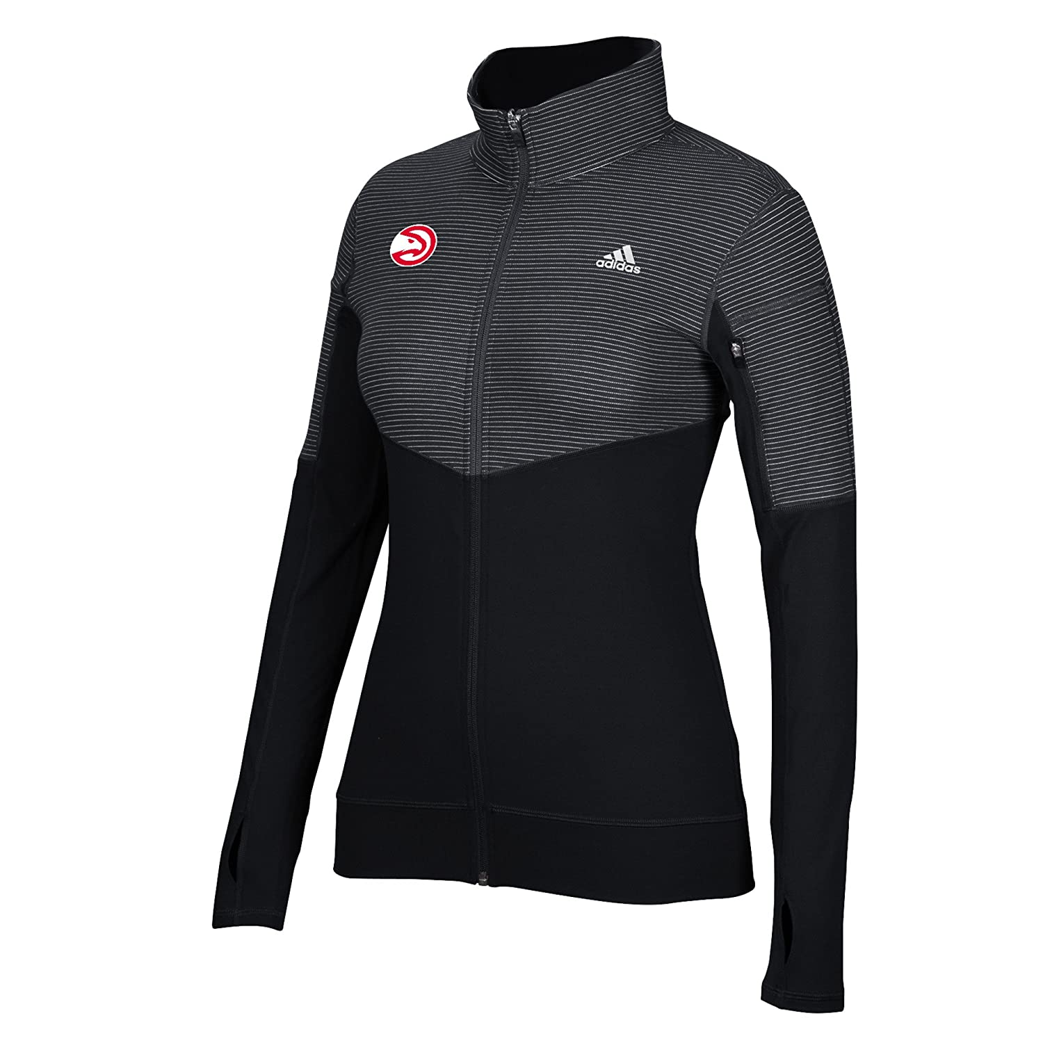 e6d0246f4 100% polyester slim fitted full zip. Climalite moisture-wicking fabric that  pulls sweat away from body to promote cooling and odor resistant