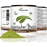 Bio té verde Matcha Japonés Orgánico   Calidad Premium 200 gramos   Envase con tapa   Grado Ceremonial   tea ecológico Matcha Latte Vegavero