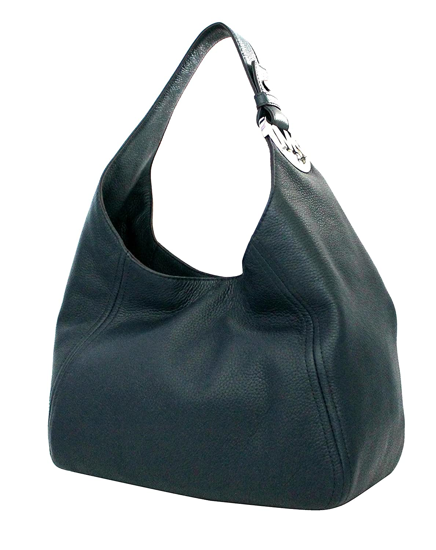 MICHAEL Michael Kors Women\u0027s Fulton Large Slouchy Leather Shoulder Handbag  NAVY