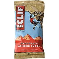 Clif Bar Barrita Energética de Avena y Chocolate con Almendras, (pack con 12 x