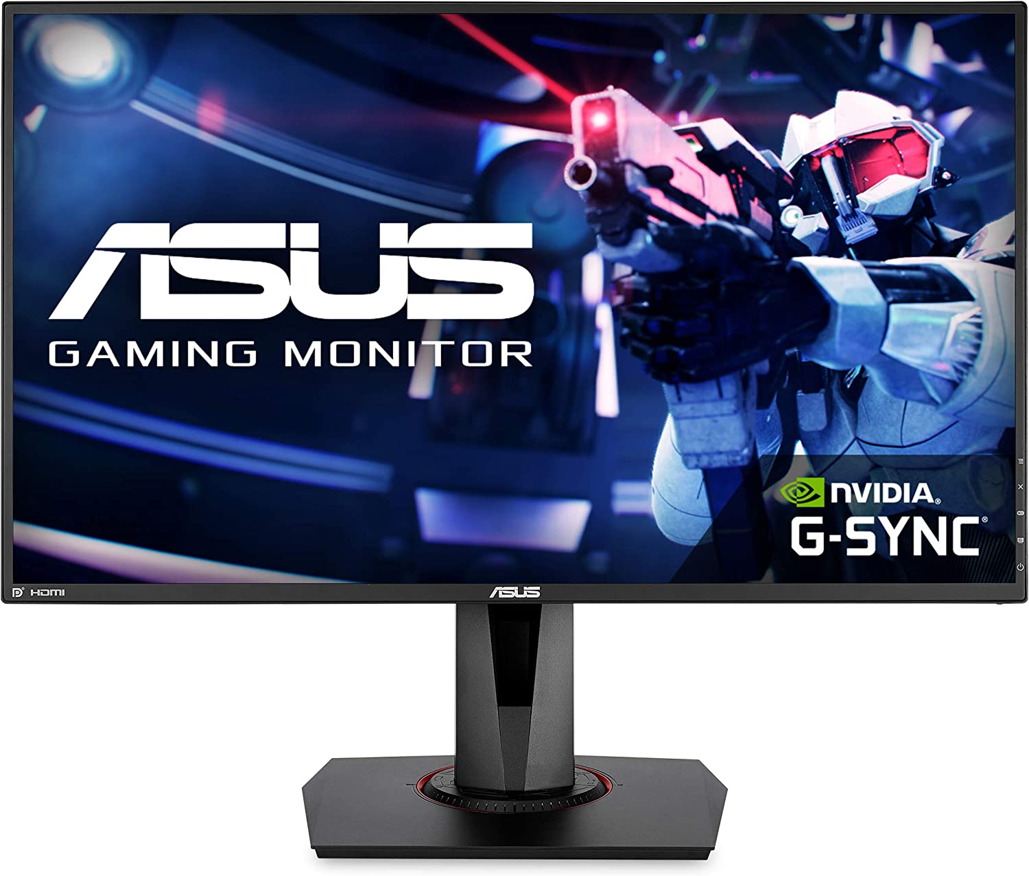 ASUS VG278Q - best dual monitor setup for gaming