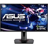 "Asus VG278QR 27"" Gaming Monitor, 1080P Full HD, 165Hz (Supports 144Hz), G-SYNC Compatible, 0.5ms, Extreme Low Motion…"