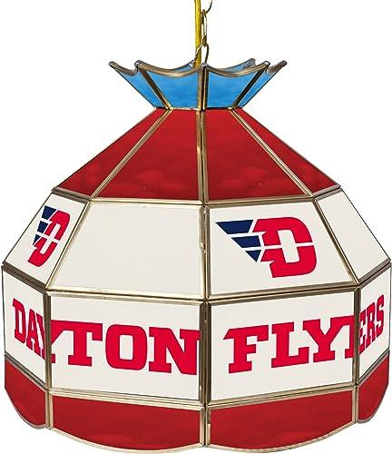 NCAA University of Dayton Tiffany Gameroom Lamp, 16
