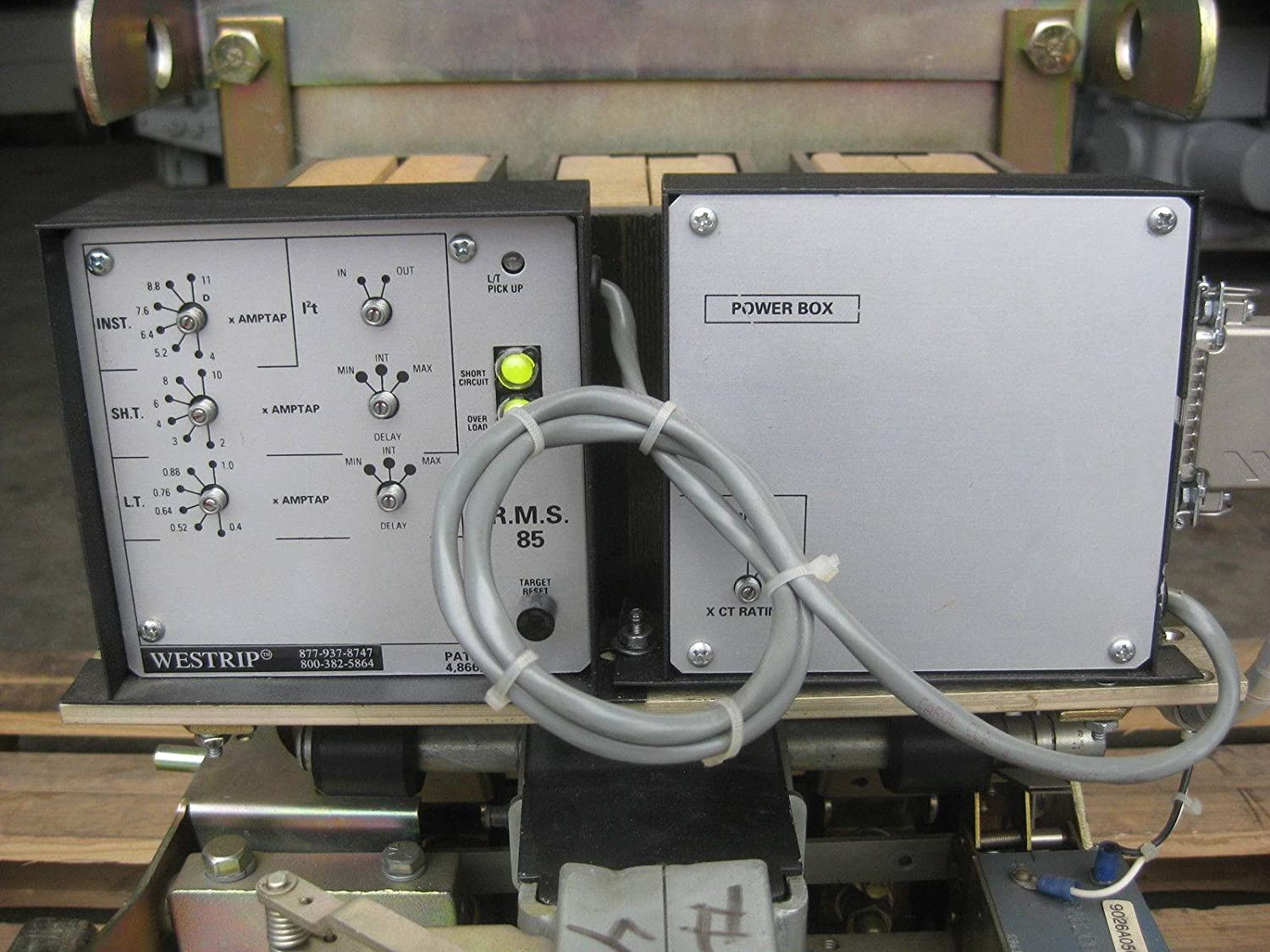 Westinghouse Fuse Box Wiring Library Dbl25 600 Amp Breaker Westrip Rms 85 Lsi Power 600a A Dbl 25