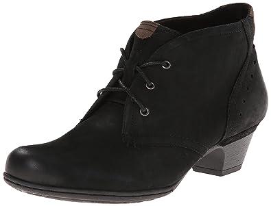 Rockport Cobb Hill Women's Aria-Ch Boot, Black, 9 W US