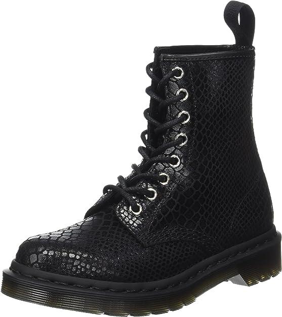 Dr. Martens 1460 W, Boots femme, Noir, 39 EU (6 UK): Amazon
