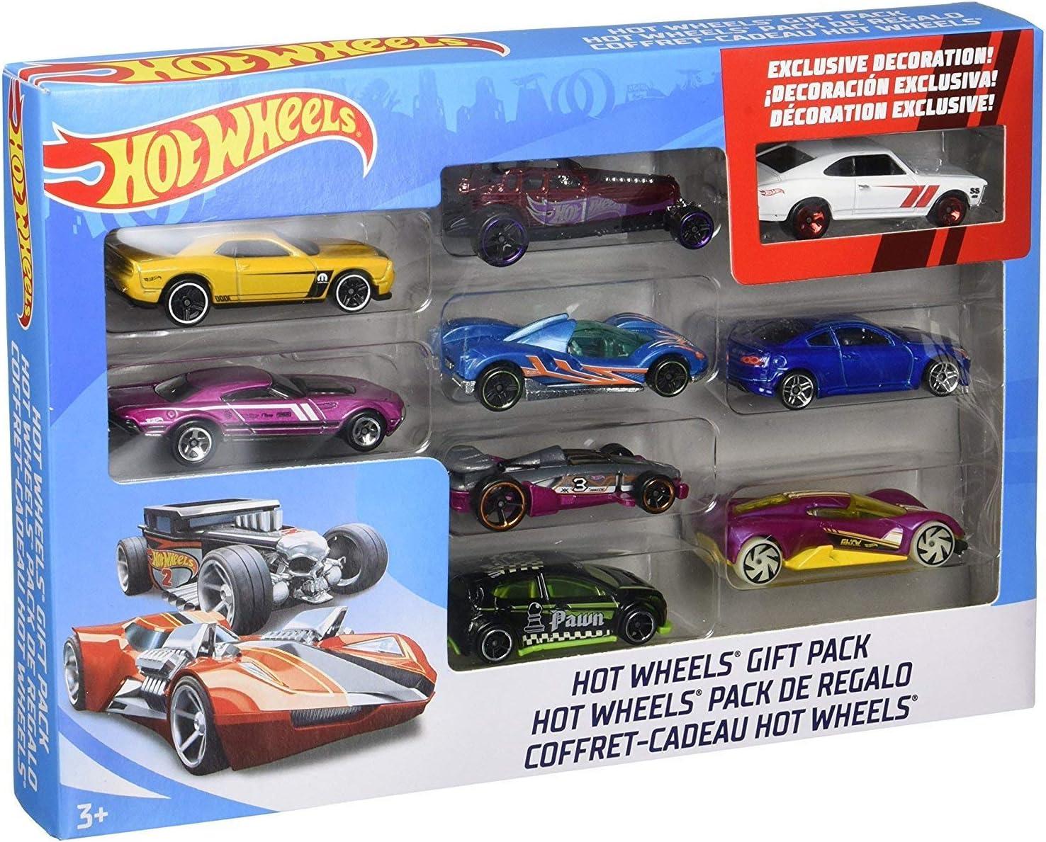 Mattel Hot Wheels X6999 vehículo de juguete Vehículos de juguete (Multicolor, Vehicle set, 3 año(s), 1:64, China, CE, WEEE) , colormodelo surtido