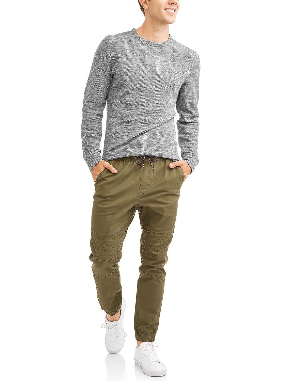 George Mens Long Sleeve Thermal Crew Top//Shirt 2XL-5XL