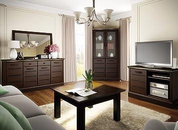 Hochwertige Wohnwand Schrankwand Wohnzimmer Möbel Lagos Iii Venge