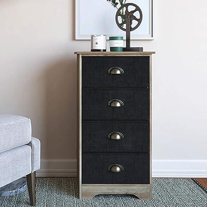Amazon.com: Nathan James 78802 Calvin Antique Dry Oak Bedroom ...