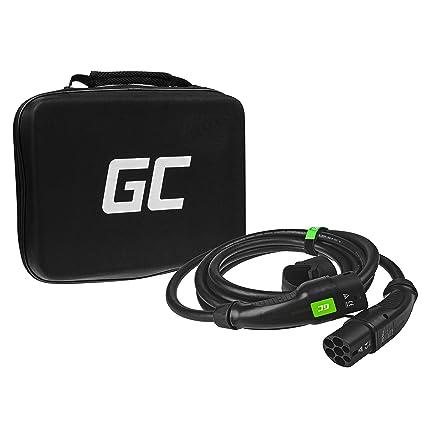 Green Cell® GC Type 2 Cable de Carga EV Vehículo Eléctrico PHEV ...
