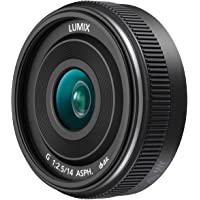 PANASONIC LUMIX G II Lens, 14mm, F2.5 ASPH., Mirrorless Micro Four Thirds, H-H014AK (USA BLACK)