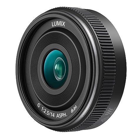 PANASONIC LUMIX G II Lens, 14mm, F2 5 ASPH , Mirrorless Micro Four Thirds,  H-H014AK (USA BLACK)