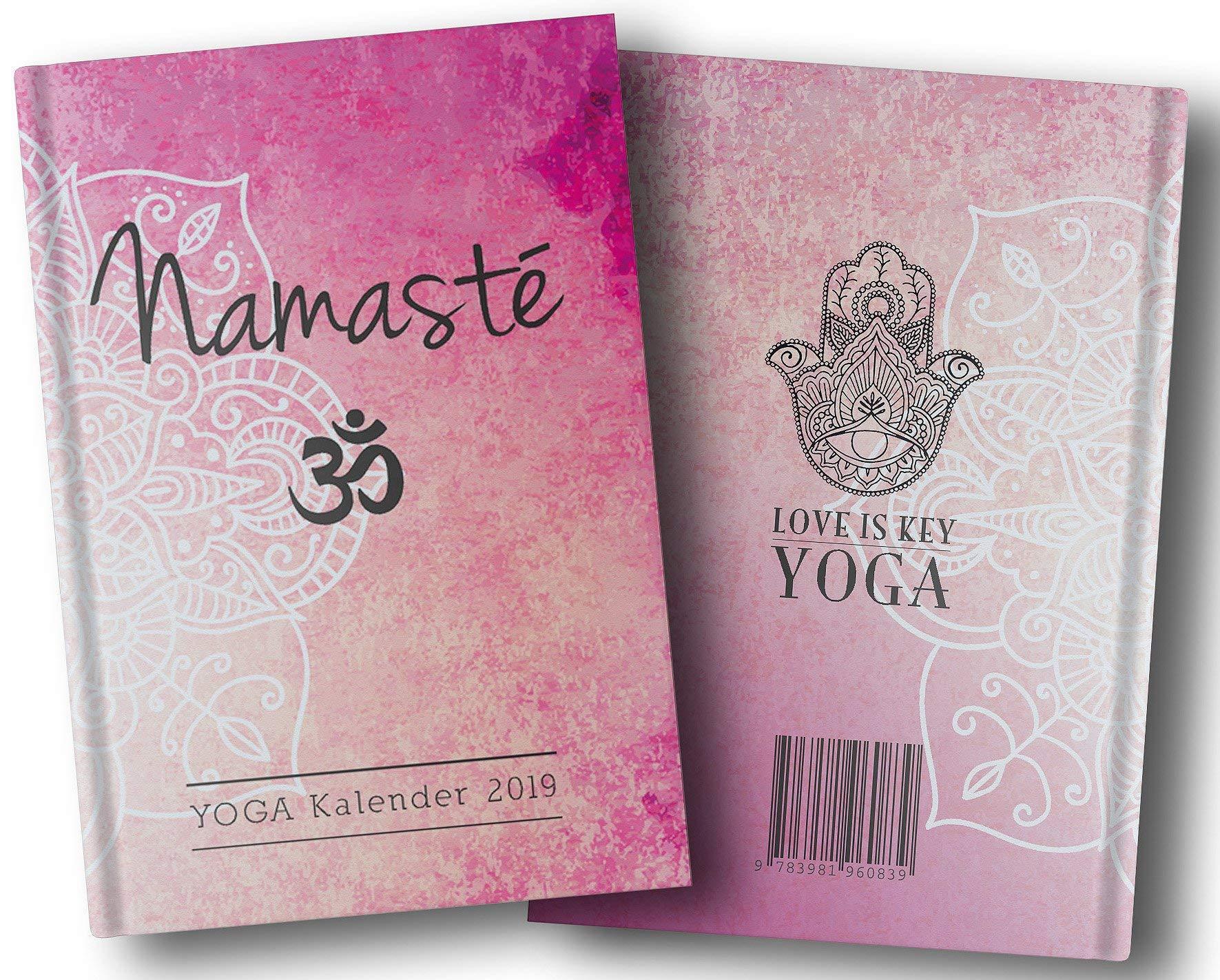 Yoga-Kalender 2019 - Taschenkalender: Mit Yoga leben - jeden ...
